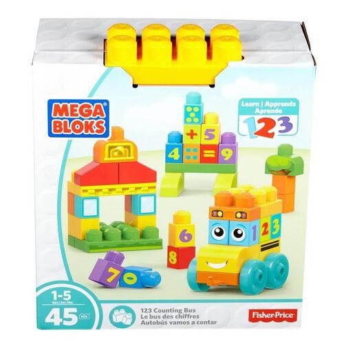 Mega Bloks 123 Counting Bus