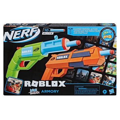 NERF Roblox Jailbreak: Armory Blaster 2 Pack