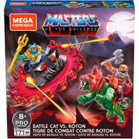 Masters Of The Universe Mega Construx Battle Cat vs. Roton