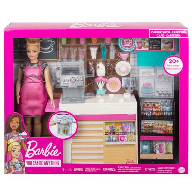 Barbie Coffee Shop Playset Blonde