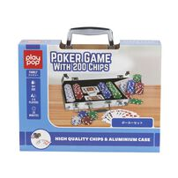 Play Pop Poker Game With 200 Chips Family Game