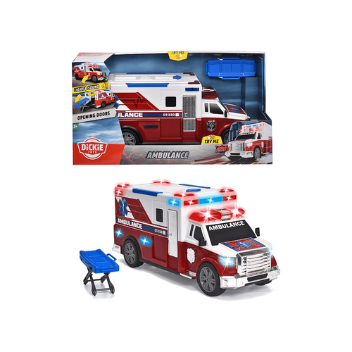 Dickie Toys Large Action Series Ambulance