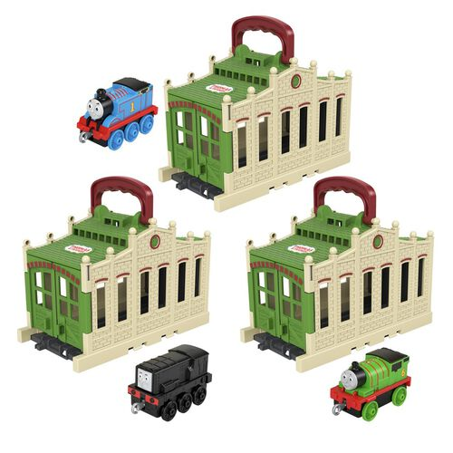 Thomas & Friends Connect & Go Thomas Shed - Assorted