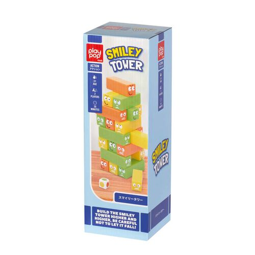 Play Pop Smiley Tower