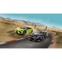 LEGO Speed Champions Lamborghini Urus ST-X and Lamborghini Huracán Super Trofeo EVO 76899