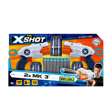 X-Shot Mk 3 Double Pack