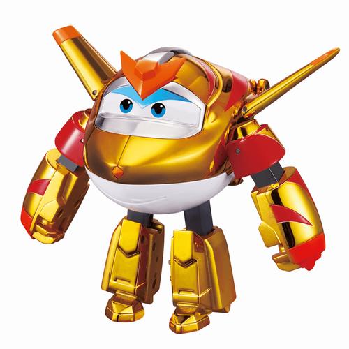 Super Wings Transforming Golden Boy