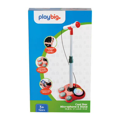 Play Big Cool Star Microphone & Stand