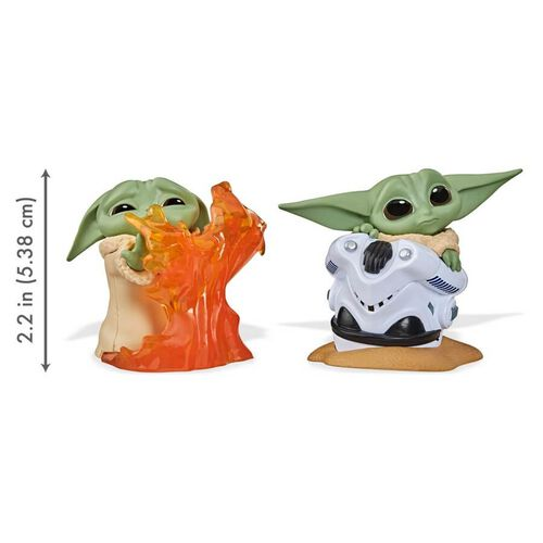 Star Wars The Bounty Collection Series 2 The Child Toys Helmet Hiding Pose, Stopping Fire Pose 2 Pack