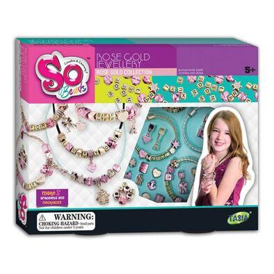 So Beads Rose Gold Jewellery
