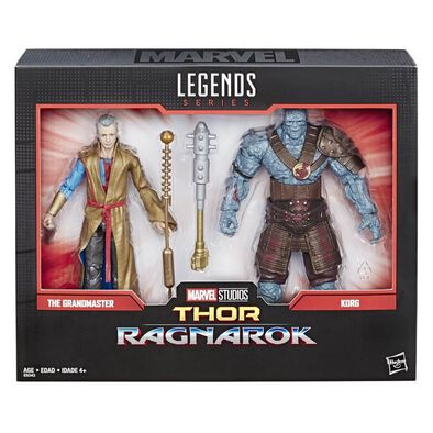 Marvel Legends Series 80th Anniversary The Grandmaster And Korg