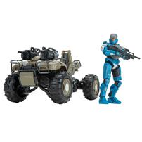 Halo 4 Inch Hero & Vehicle