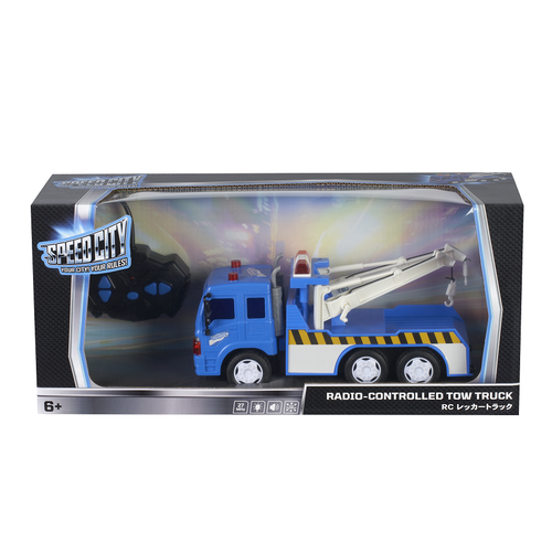 Speed City Radio-Controlled Tow Truck