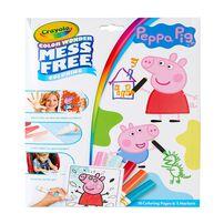 Crayola Peppa Pig Color Wonder Mess Free Coloring