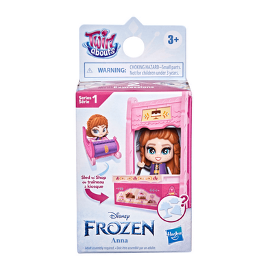 Disney Frozen 2 Twirl Abouts Series 1 Anna Sled To Shop Playset