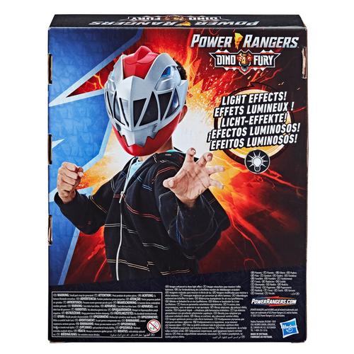 Power Rangers Dino Fury Red Ranger Electronic Mask