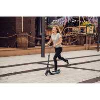 Globber Flow Foldable 125 White And Black 2-Wheel Scooter